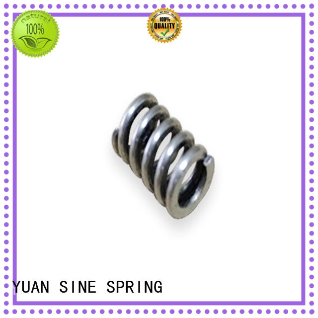 YUAN SINE SPRING allotype helical compression spring manufacturer for hardware tools