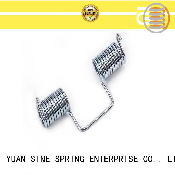 YUAN SINE SPRING steel custom torsion springs supplier for glasses and spectacle frame