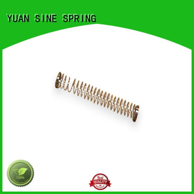 types metal compression spring pressure for toys YUAN SINE SPRING