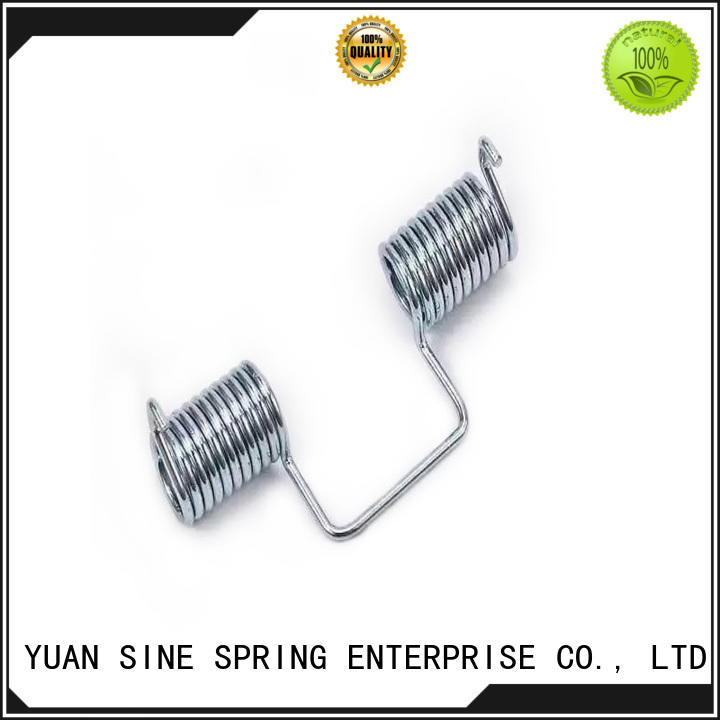 YUAN SINE SPRING spring double torsion springs suppliers with different shape for glasses and spectacle frame