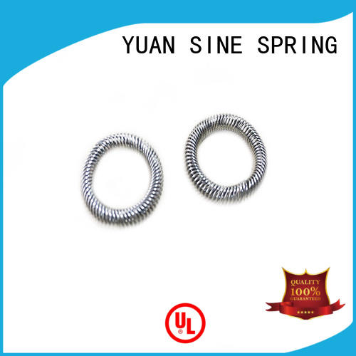 Hot textile compression springs canada inspection YUAN SINE SPRING Brand