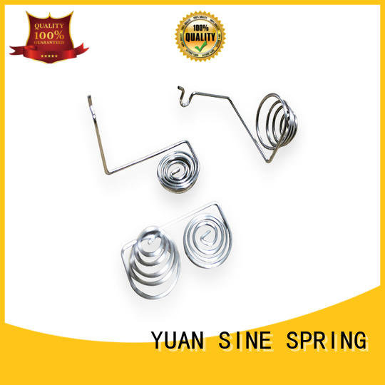 YUAN SINE SPRING steel wire forming Supply for outdoor equipment accessories