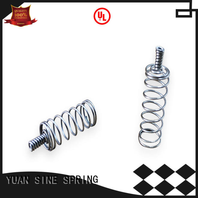 YUAN SINE SPRING textile helical compression spring series for the national defence industry