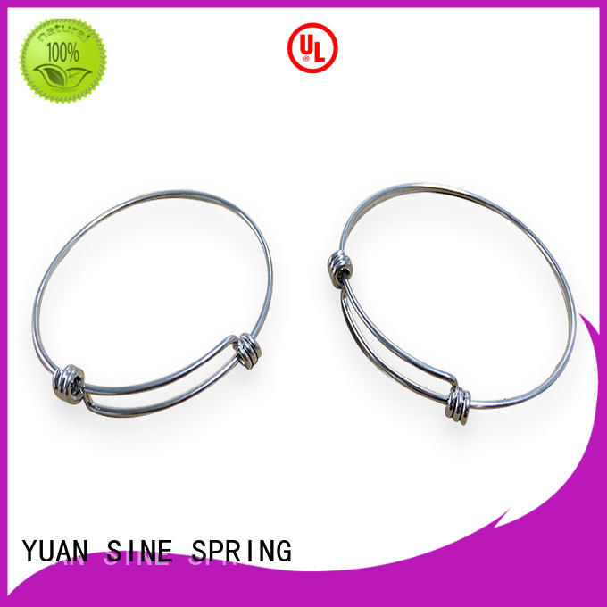 YUAN SINE SPRING electronic hollow tube wire form supplier for hanger
