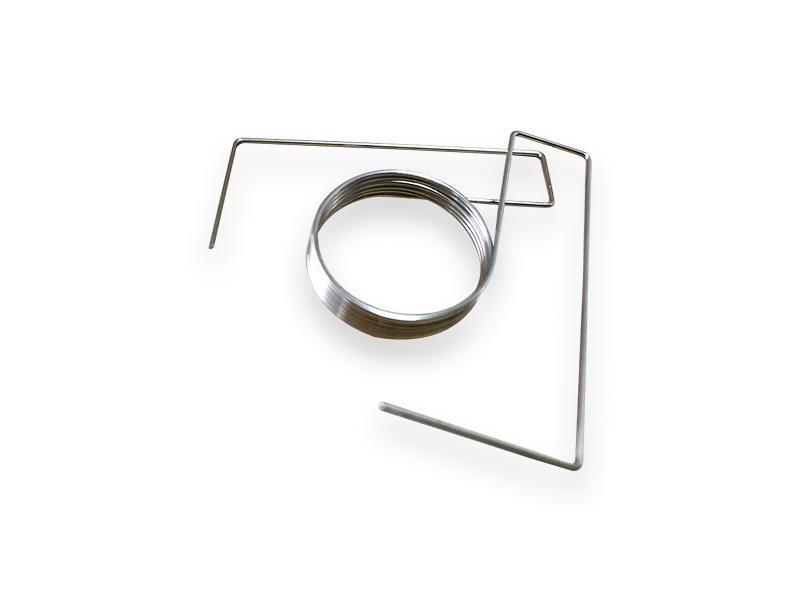 Custom various shape spring steel wire form