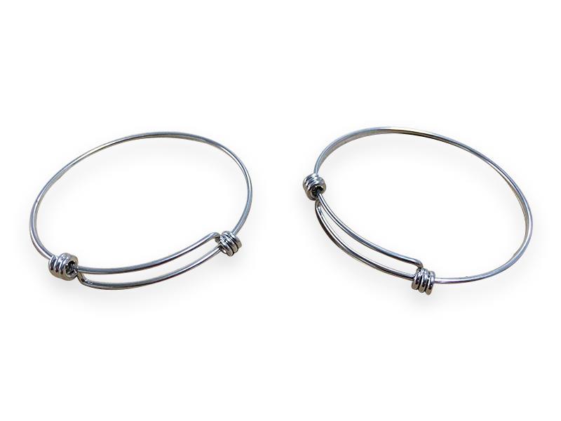 Decorative spring hollow tube for bracelet