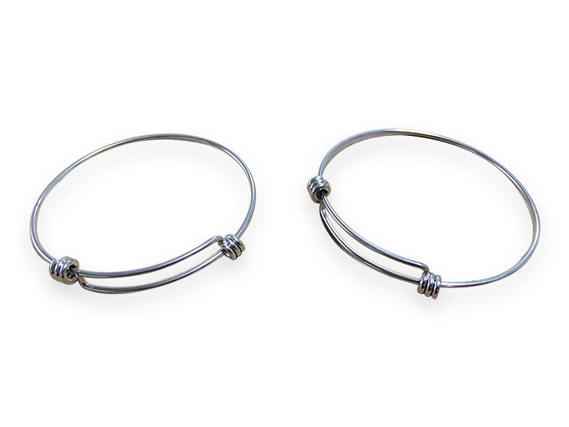 Decorative spring hollow tube for bracelet