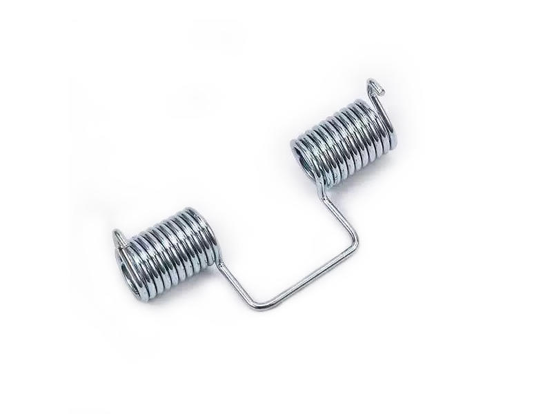 Custom double wheel Parallel torsion spring