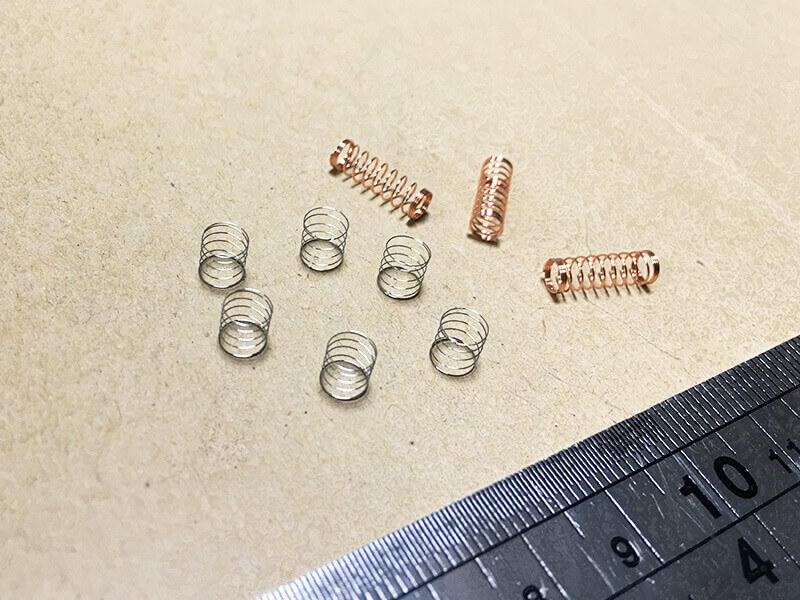Custom different types stainless steel Compress spring