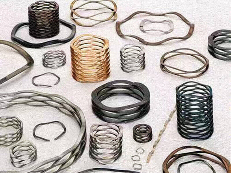 wave constant force spring supplier for guitar YUAN SINE SPRING