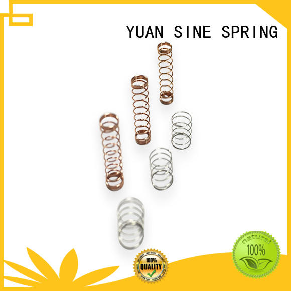 YUAN SINE SPRING pressure precise compression springs wholesale for the national defence industry