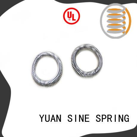 YUAN SINE SPRING medical compression spring uses easy to grasp for pressure pump