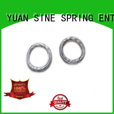 YUAN SINE SPRING instrument types of compression springs supplier for the national defence industry
