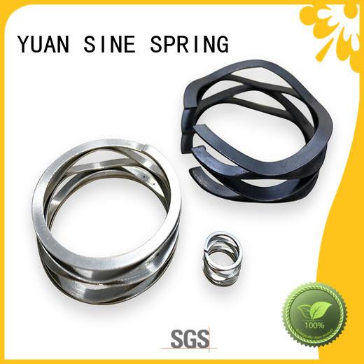 black motor wave spring disc YUAN SINE SPRING