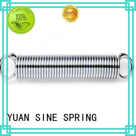 steel tension double custom torsion springs YUAN SINE SPRING Brand
