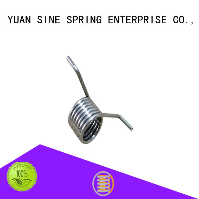 YUAN SINE SPRING steel double torsion springs suppliers factory for glasses and spectacle frame