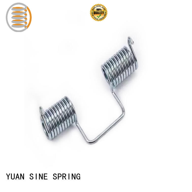 YUAN SINE SPRING frame double torsion springs suppliers on sale for glasses and spectacle frame