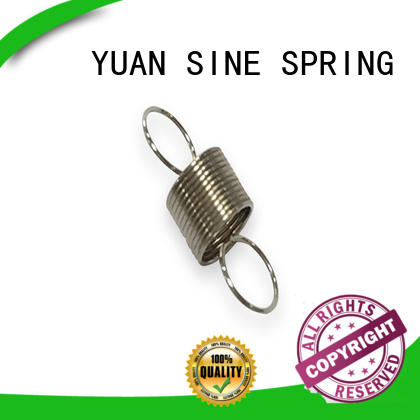 YUAN SINE SPRING loop heavy duty extension springs factory for blood pressure device tester