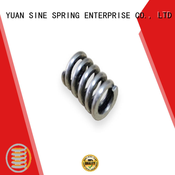 YUAN SINE SPRING Custom small compression springs for business for the national defence industry