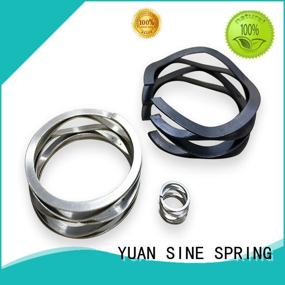 stainless motor spring with different shape for music box YUAN SINE SPRING