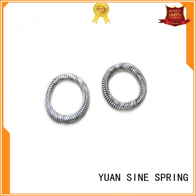 heavy duty compression springs customized for the national defence industry YUAN SINE SPRING