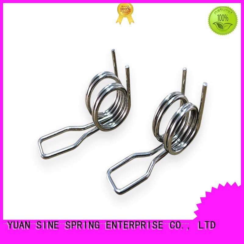YUAN SINE SPRING high quality helical torsion spring wholesale