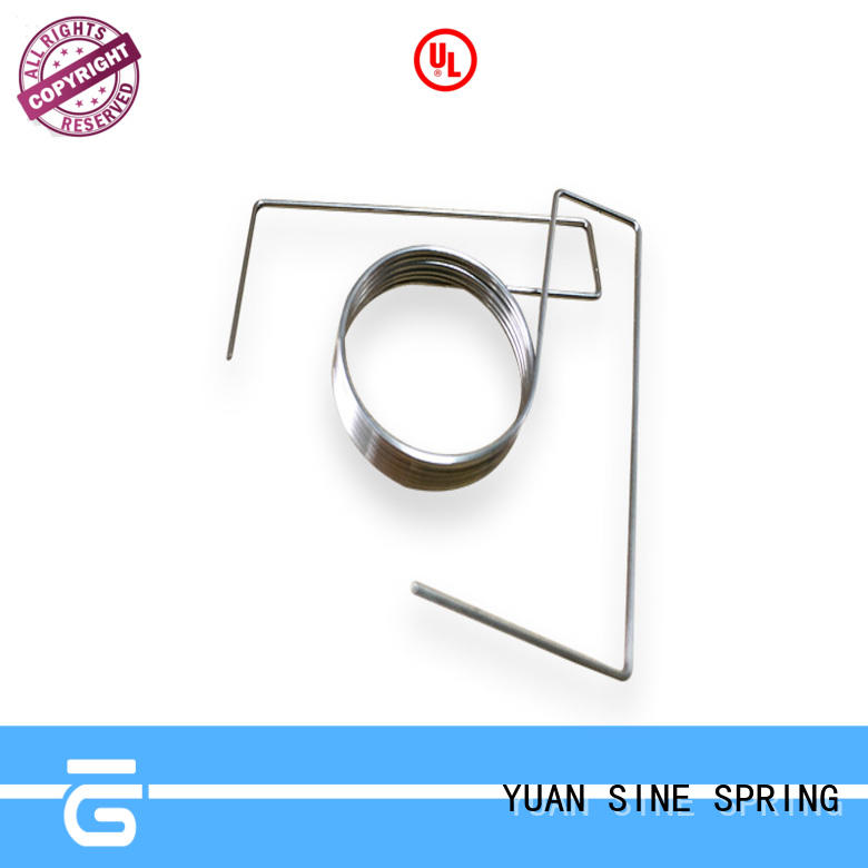YUAN SINE SPRING flat hollow tube wire form Supply for ear sets