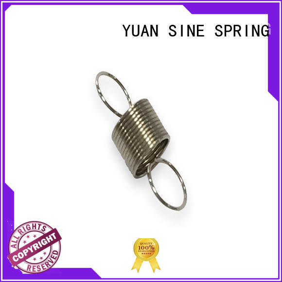 YUAN SINE SPRING helical precision extension springs on sale for ATM machine