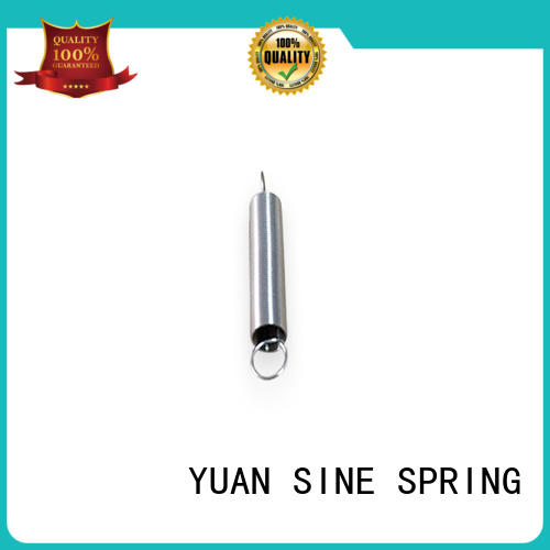 YUAN SINE SPRING Custom small extension springs factory for ATM machine
