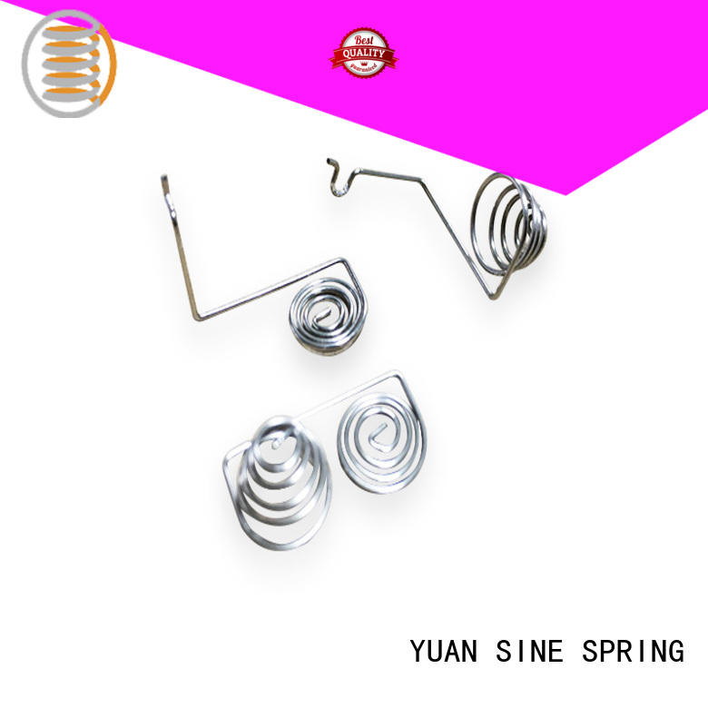 YUAN SINE SPRING electronic custom wire supplier for house wares components
