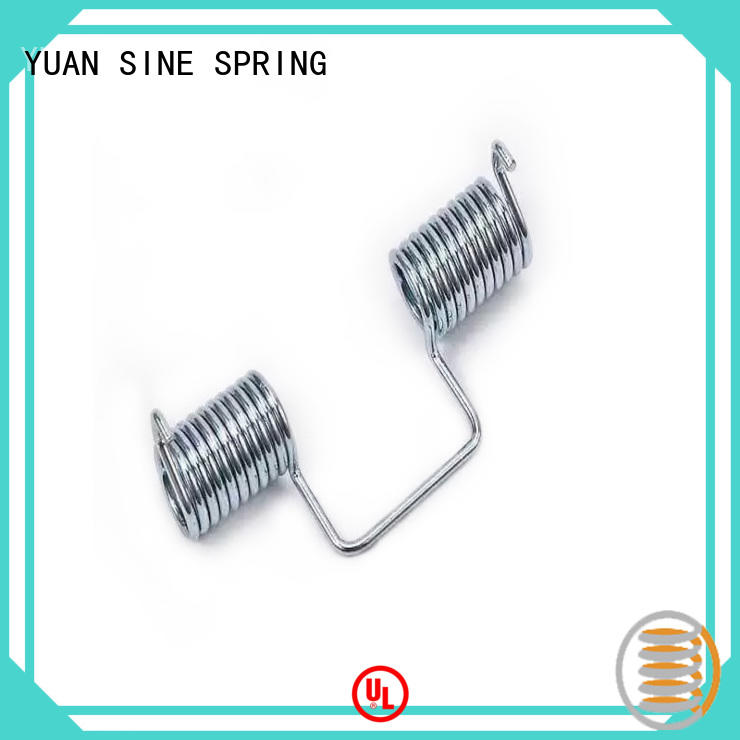 stainless made quality custom torsion springs YUAN SINE SPRING
