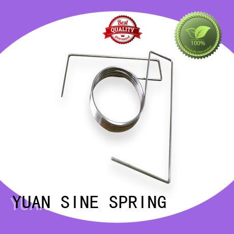 flat hanger spring wire tube YUAN SINE SPRING