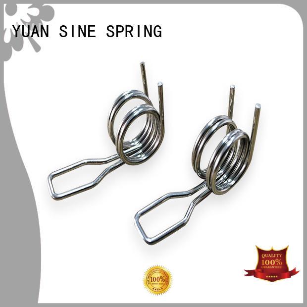 torsion small torsion springs manufacturer for glasses and spectacle frame YUAN SINE SPRING