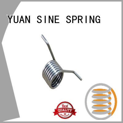 YUAN SINE SPRING hyperthermy spiral torsion spring supplier