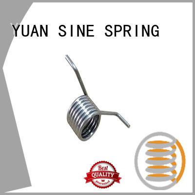YUAN SINE SPRING hyperthermy spiral torsion spring supplier