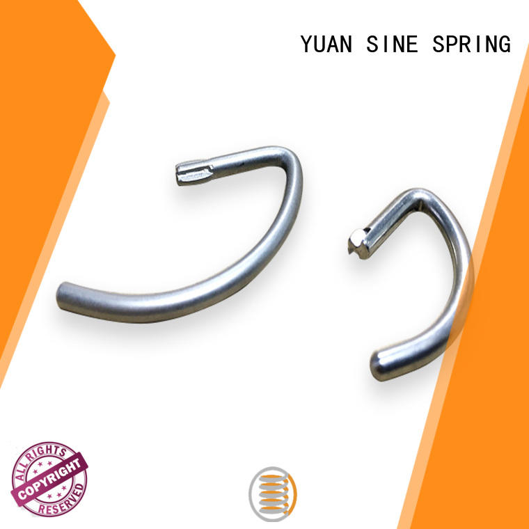 YUAN SINE SPRING High-quality wire shapes manufacturers for outdoor equipment accessories