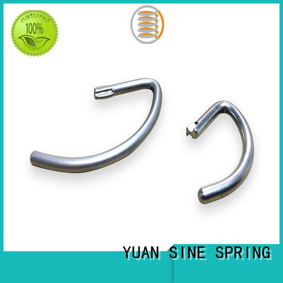 YUAN SINE SPRING carbon wire forming with a variety of materials for outdoor equipment accessories