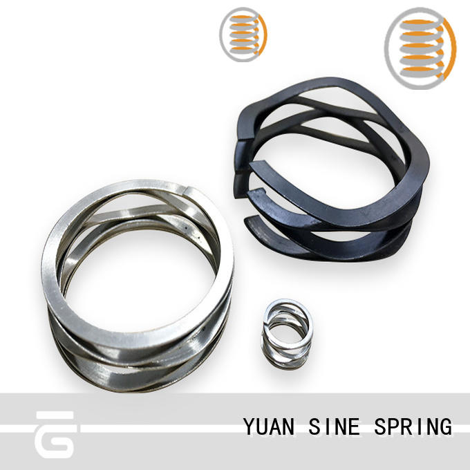 YUAN SINE SPRING stainless constant force spring supplier for music box