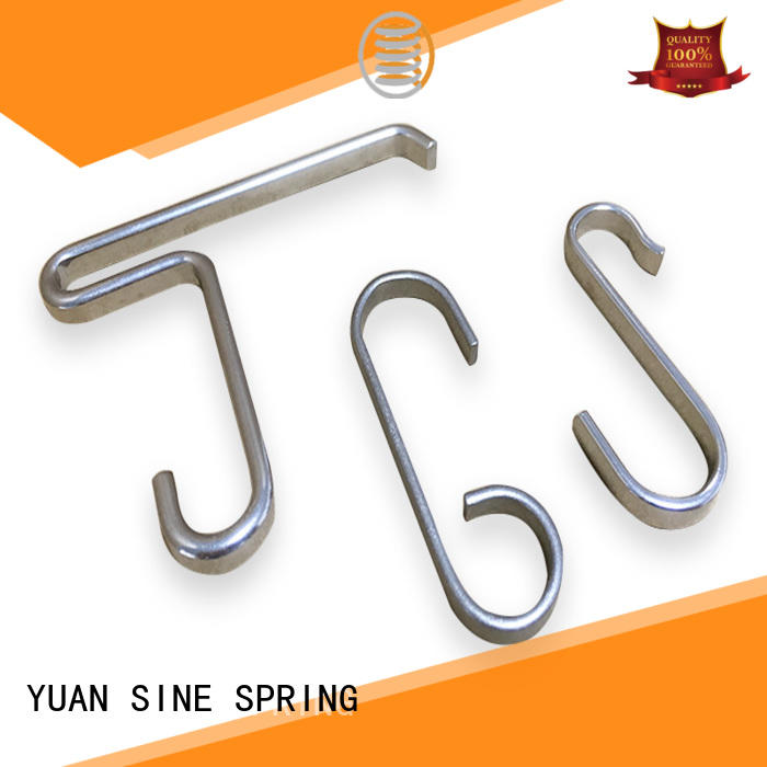 YUAN SINE SPRING shape custom wire factory for house wares components