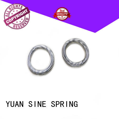 YUAN SINE SPRING Top small compression springs factory for the national defence industry