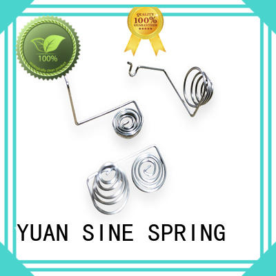 hangerwire wire shapes with variety of materials for ear sets YUAN SINE SPRING