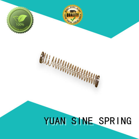 YUAN SINE SPRING medical helical compression spring for business for gifts