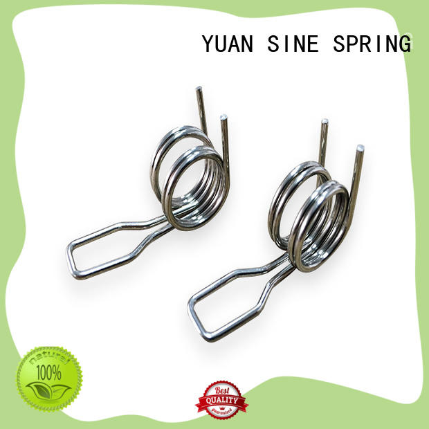 YUAN SINE SPRING glasses lowes torsion spring with different shape for glasses and spectacle frame