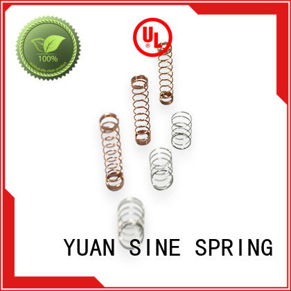 YUAN SINE SPRING different stainless steel compression springs easy to grasp for hardware tools