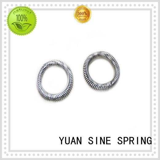 YUAN SINE SPRING different helical compression spring design stainless for motor vehicles