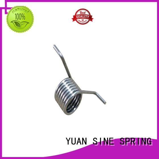 YUAN SINE SPRING stainless torsion spring design with different shape for glasses and spectacle frame