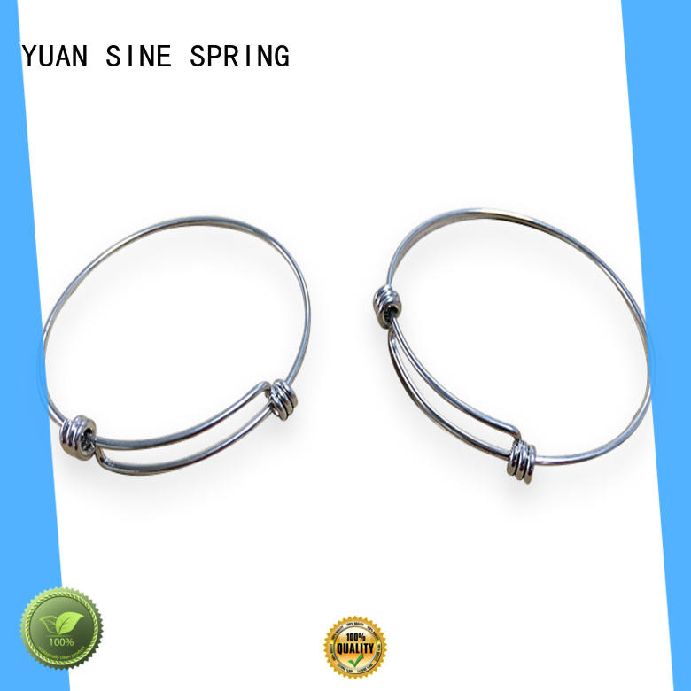 YUAN SINE SPRING special wire shapes with a variety of materials for outdoor equipment accessories