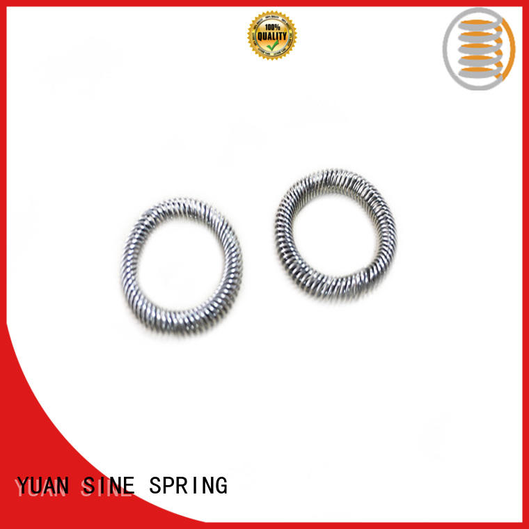 YUAN SINE SPRING form steel compression spring easy to grasp for the national defence industry