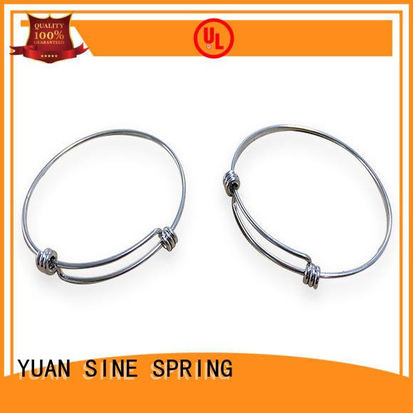 YUAN SINE SPRING electronic wire shapes with a variety of materials for ear sets