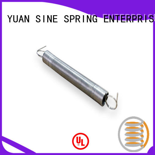 YUAN SINE SPRING Custom stainless steel extension springs manufacturers for blood pressure device tester